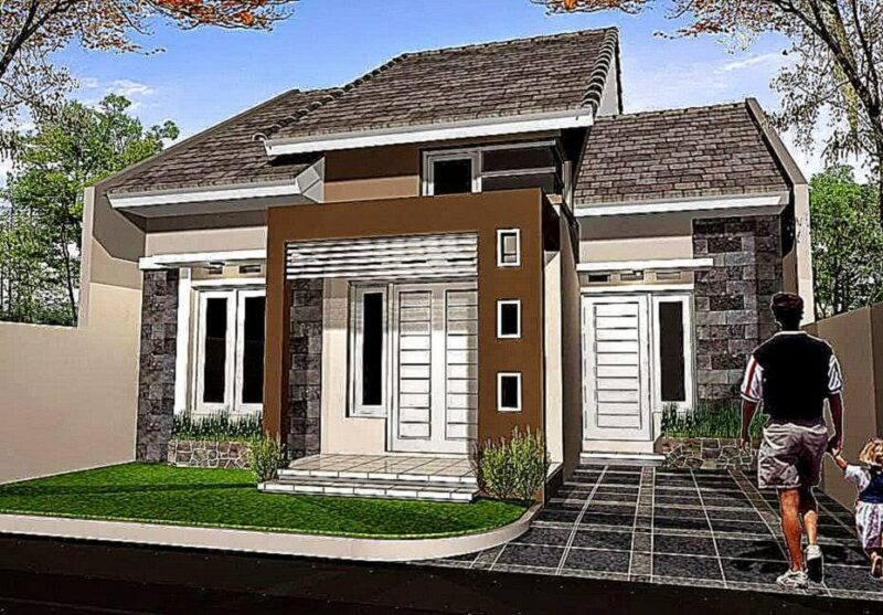 Contoh Gambar Desain Rumah Minimalis Sederhana