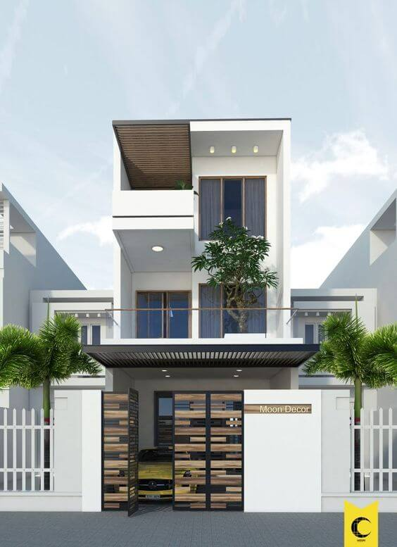 Variasi Keren Warna Cat Rumah Minimalis Tembok Luar Rumah