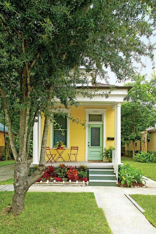 Variasi Unik Warna Cat Rumah Minimalis Modern bagian Luar Rumah