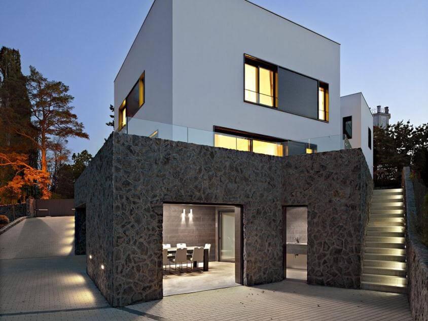 Warna Rumah Minimalis Modern bagian Luar yang Cantik