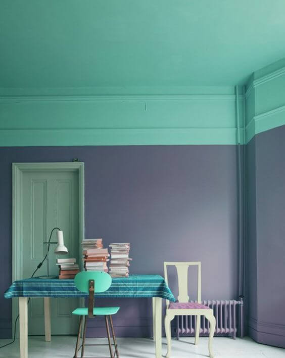 Inspirasi Variasi Warna Cat Dinding Tembok Rumah Minimalis bagian Dalam