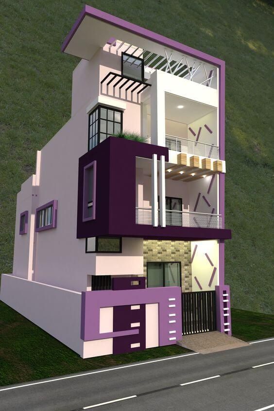 Macam Macam Variasi Warna Cat Tembok Rumah Minimalis bagian Luar Rumah
