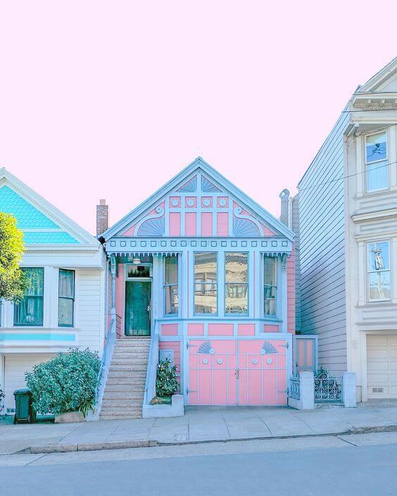 Kolaborasi Warna Cat Dinding Luar Rumah