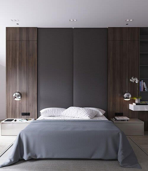 Contoh-contoh Gambar Desain Kamar Tidur dengan Warna yang Menenangkan