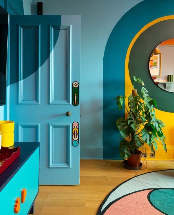 Variasi Keren Warna Cat Rumah Minimalis Kekinian bagian Dalam