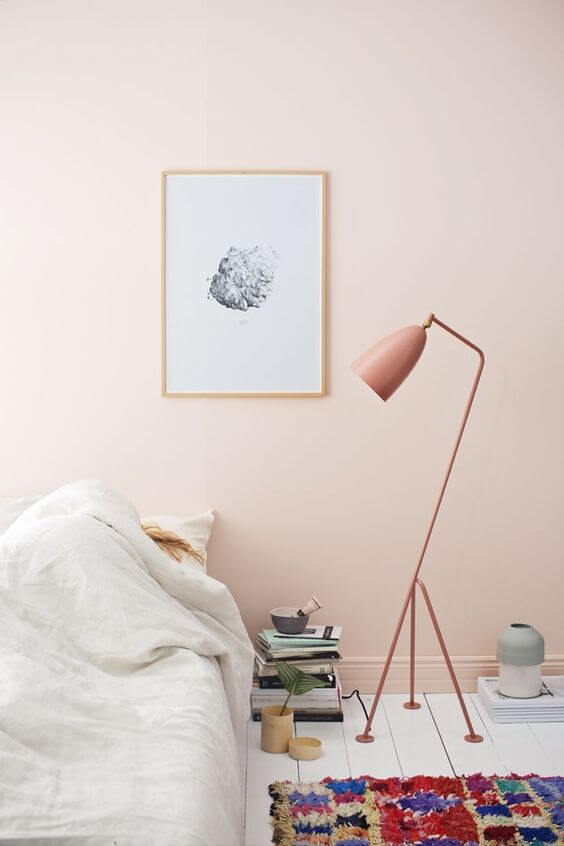 Day Lili (Pink Kalem) Warna Cat Kamar Tidur yang Menenangkan