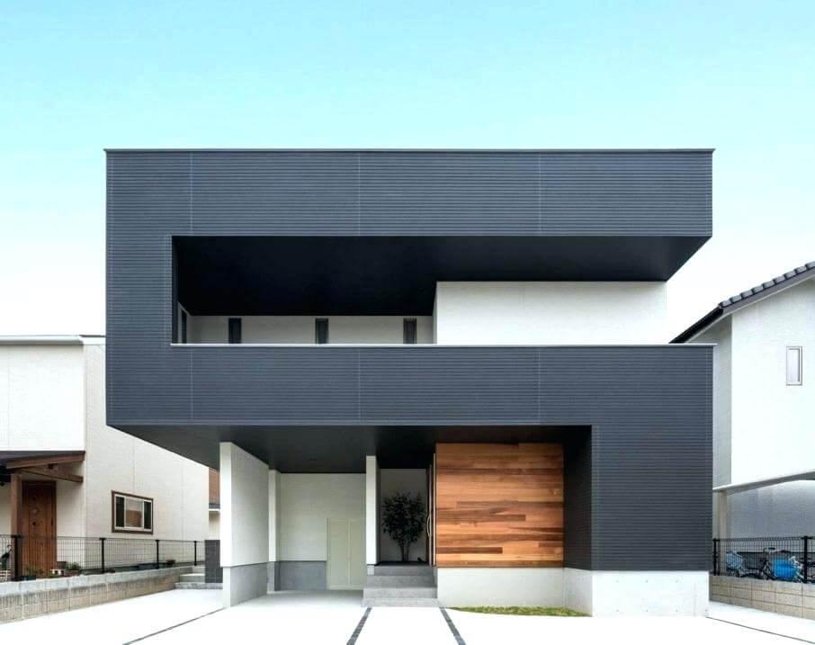 Kombinasi Warna Cat Rumah Minimalis Modern dan Kekinian bagian Luar