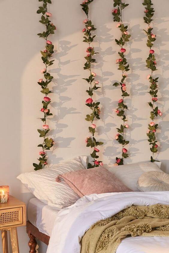 Dekor kamar tidur sederhana hijau 2