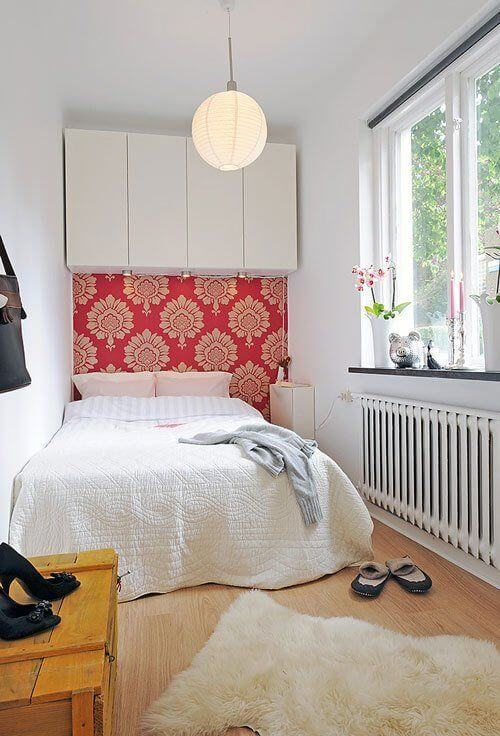 Dekor kamar tidur sederhana wallpaper