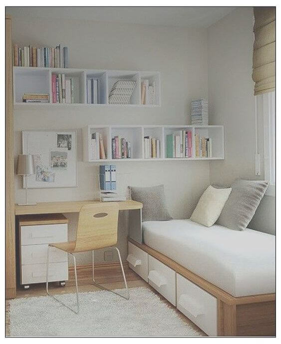 Dekor kamar tidur sederhana