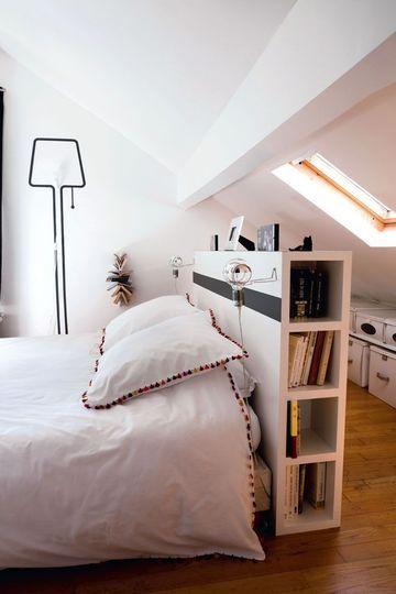 Dekorasi Kamar Tidur Minimalis belakang kasur