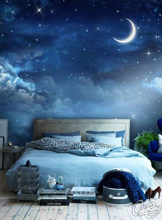 Dekorasi Kamar Tidur Minimalis moon