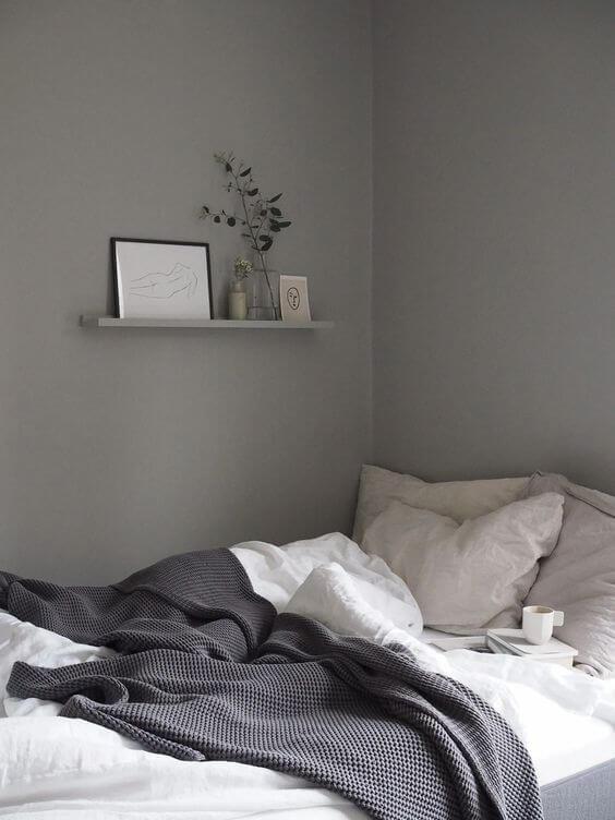 Warna Kamar Tidur Yang Menenangkan Abu