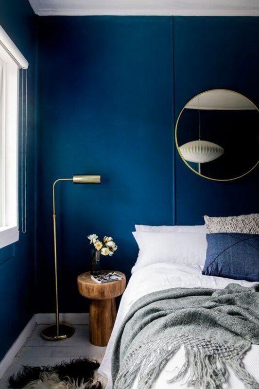Warna Kamar Tidur Yang Menenangkan Biru