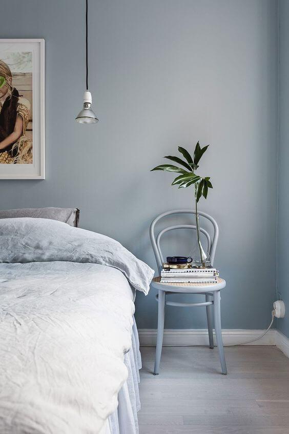 Warna Kamar Tidur Yang Menenangkan Ice Blue