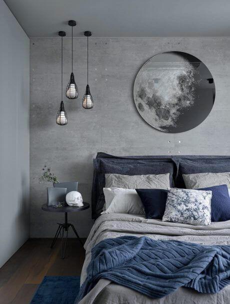 Warna cat kamar tidur romantis Unik space
