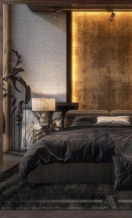 Warna cat kamar tidur romantis kekinian low light