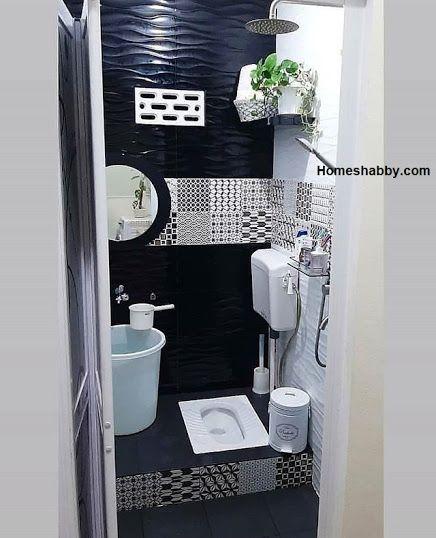 Dekorasu toilet sederhana