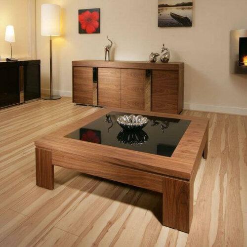 51 ❤️ Contoh Meja Ruang Tamu Minimalis Modern dari Kayu & Kaca Unik