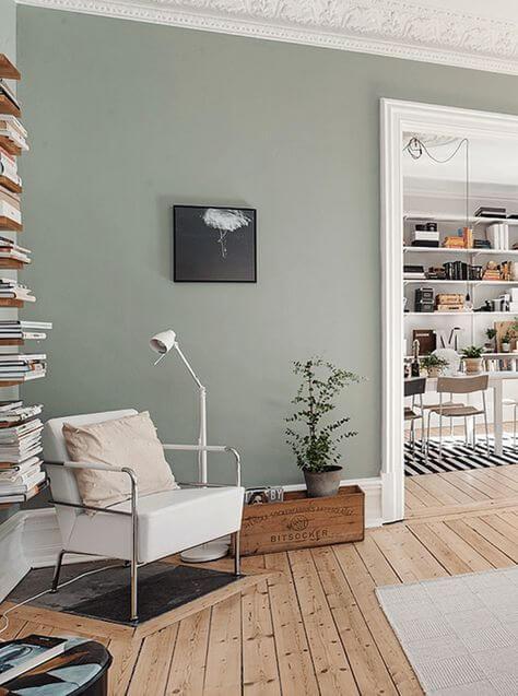 Warna Cat Ruang Tamu Gray