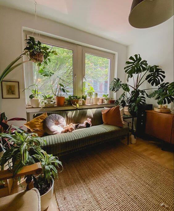 Ruang tamu unik