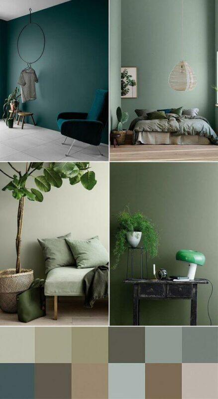Cara menghias kamar tidur sederhana Cat dinding