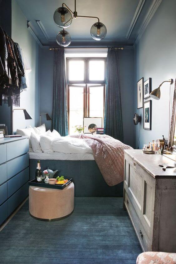 Cara menghias kamar tidur sempit