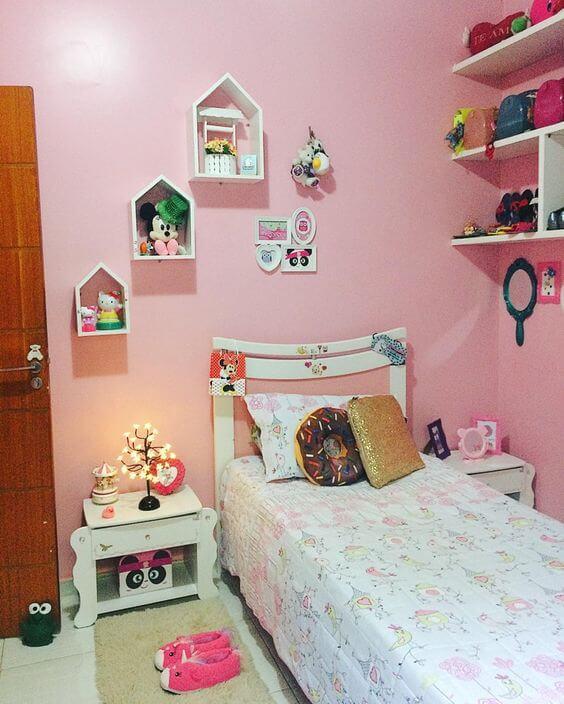Dekorasi Kamar Tidur Anak Perempuan Minimalis