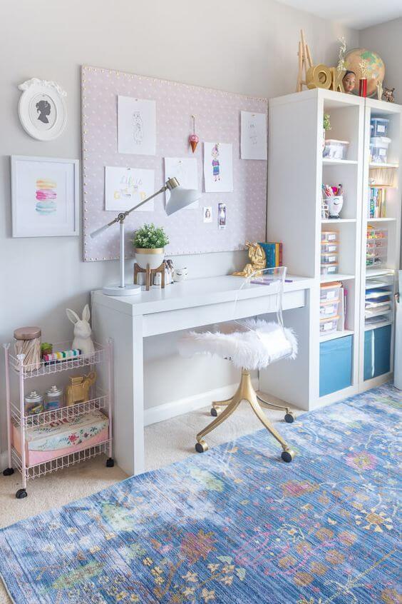 Desain Kamar Anak Perempuan Cahaya terang