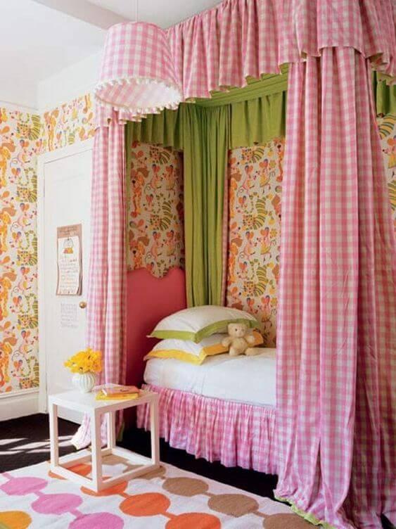 Desain Kamar Anak Perempuan Kekinian Colorful
