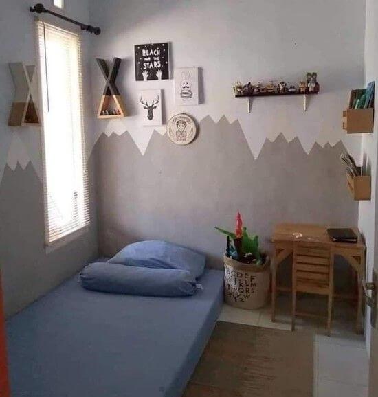 Desain Kamar Anak Perempuan Minimalis Lesehan