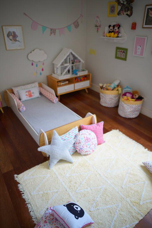 Desain Kamar Anak Perempuan Minimalis Tempat Mainan
