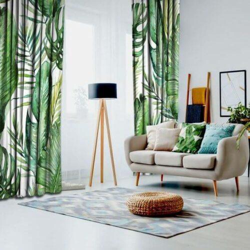 51❤️ Model Gorden Cantik dan Mewah untuk Pintu & Jendela Ruang Tamu