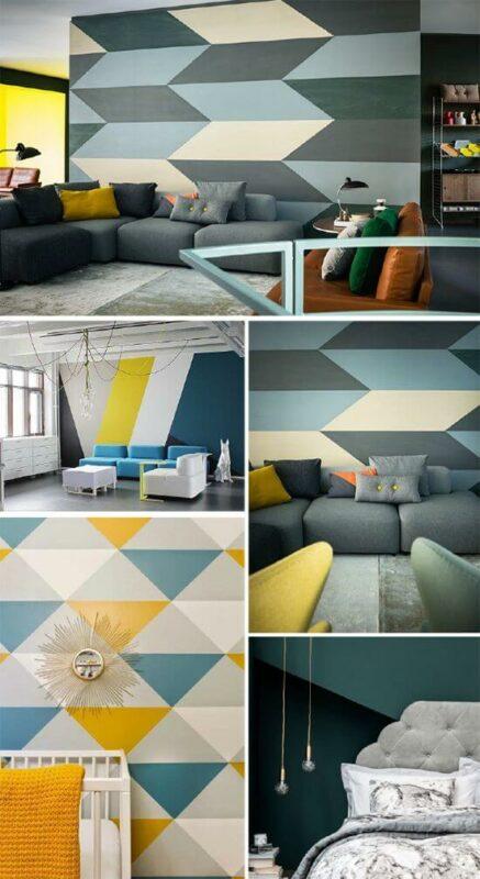 Variasi warna ruang tamu
