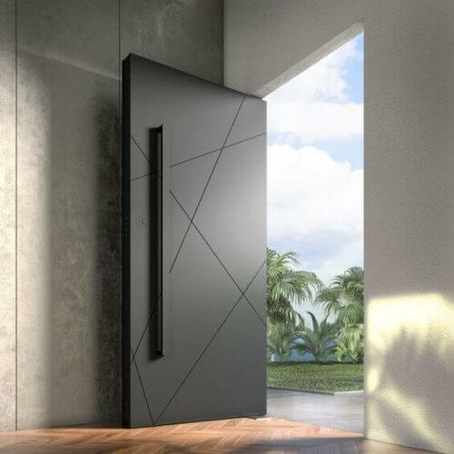 36 ❤️. Gambar Model Pintu Rumah bagian Depan yang Minimalis dan Unik