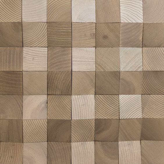 Ceramic Wood Motif 60x60